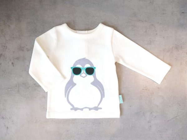 T-shirt long sleeve penguin