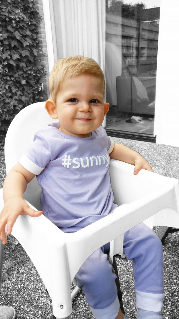 #sunny t-shirt on baby