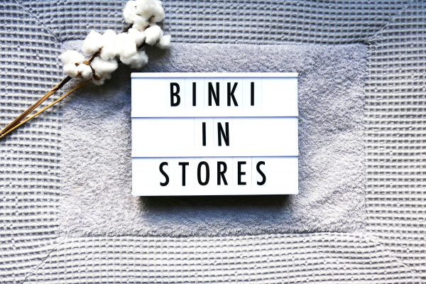 BiNKi in stores